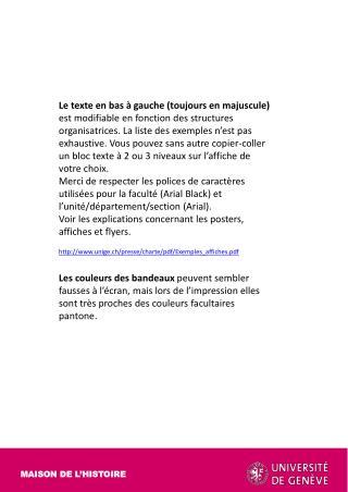 MAISON DE L'HISTOIRE