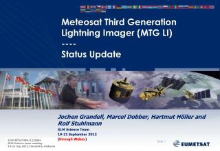 Meteosat Third Generation Lightning Imager (MTG LI) ---- Status Update