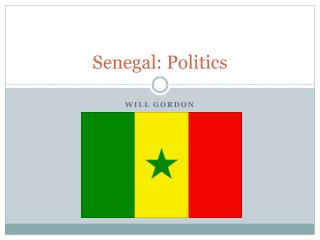 Senegal: Politics