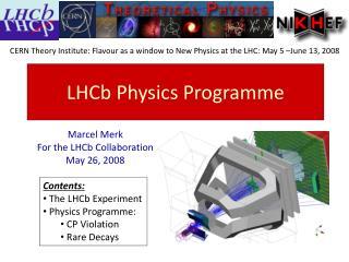 LHCb Physics Programme