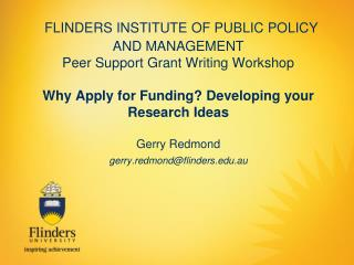 Academic Research Funding.....
