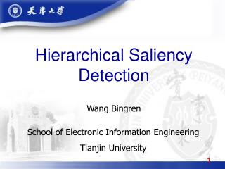 Hierarchical Saliency Detection