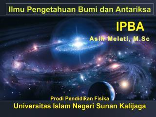 Ilmu Pengetahuan Bumi dan Antariksa