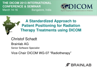 International co-operation in radiation oncology: