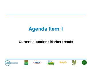 Agenda Item 1