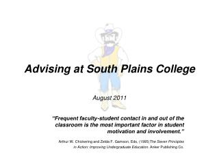 Advising at South Plains College