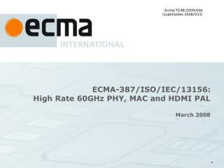 ECMA-387