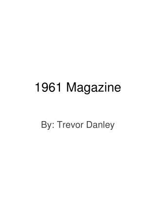 1961 Magazine