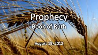 Prophecy Book of Ruth