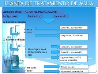 Laboratorio  clínico :    AUTOR   GERALDINE AGUIRRE