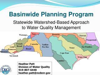 Basinwide Planning Program