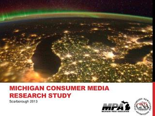 MICHIGAN Consumer Media research Study