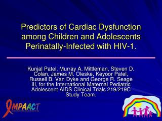 HIV-associated  Cardiomyopathy  (CM)