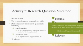 Creating a Research Poster