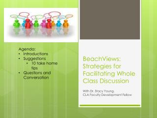 BeachViews : Strategies for Facilitating Whole Class Discussion