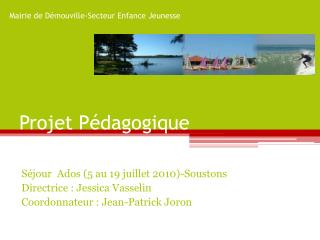 Projet Pédagogique
