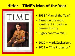 Hitler – TIME's Man of the Year