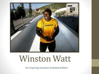 Winston Watt