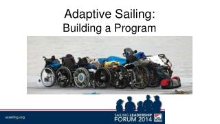 Adaptive Sailing:  Building a Program
