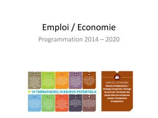 Emploi / Economie