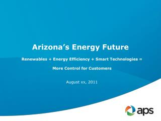 Arizona�s Energy Future