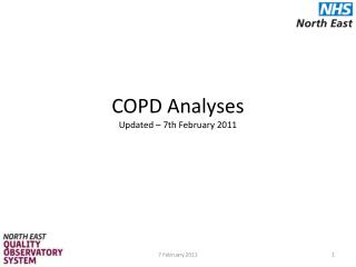 COPD Analyses Updated – 7th February 2011
