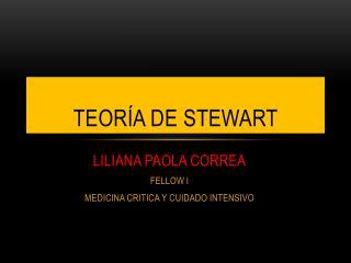 Teoría de  stewart