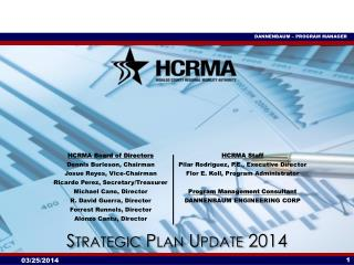 Strategic Plan Update 2014
