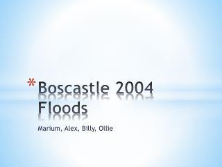 Boscastle 2004 Floods