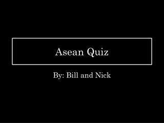 Asean Quiz
