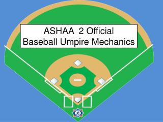 ASHAA  2 Official Baseball Umpire Mechanics