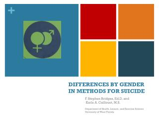 DIFFERENCES BY GENDER IN METHODS FOR SUICIDE