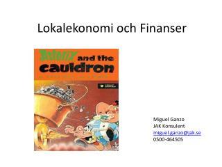 Lokalekonomi och Finanser