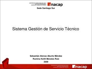 Sistema Gestión de Servicio Técnico