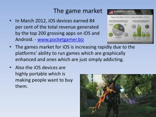 The game market