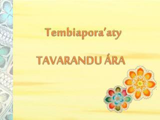 Tembiapora'aty