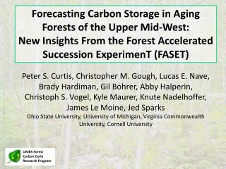 UMBS Forest Carbon Cycle Research Program
