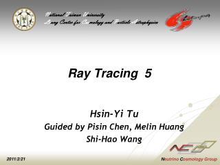 Ray Tracing  5