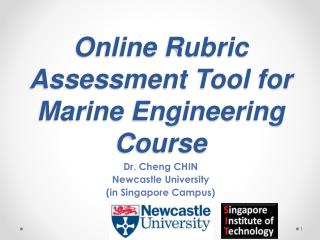 Online Rubric Assessment Tool for Marine Engineering Course