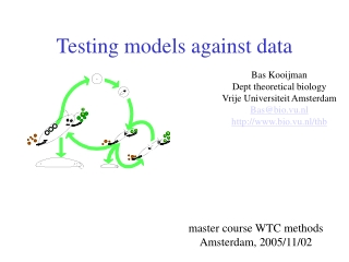 Lecture 10: Choosing a statistical test 1