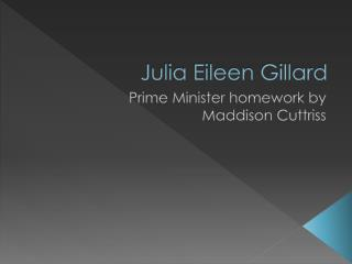 Julia Eileen Gillard
