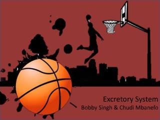 Excretory System Bobby Singh & Chudi Mbanefo