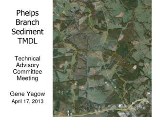 Phelps Branch Sediment TMDL