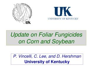 Update on Foliar Fungicides on Corn and Soybean