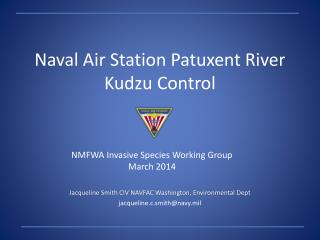 Naval Air Station Patuxent River  Kudzu Control