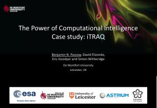The Power of Computational Intelligence Case study: iTRAQ