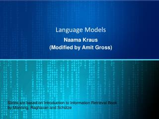 Language Models
