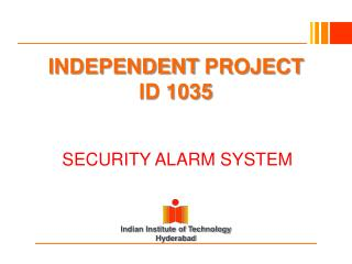 INDEPENDENT  PROJECT ID 1035