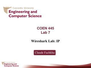 COEN 445 Lab 7