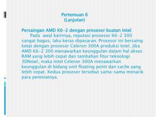 Daftar prosesor AMD K5 corenamed 5k86 (Godot)